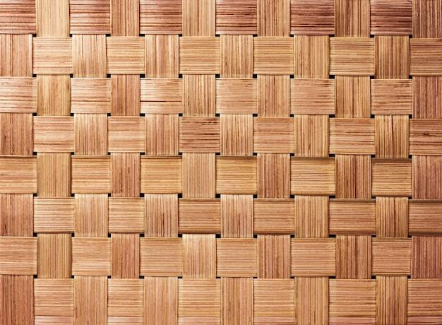 伝統的な手芸織りパターン背景 Premium写真