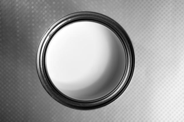 ペイントマクロの白鋼錫 Premium写真