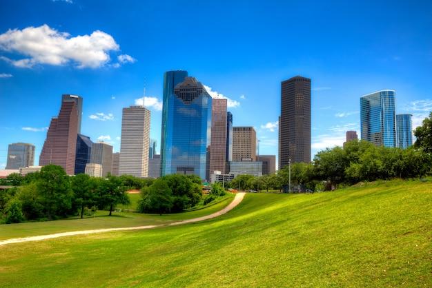 テキサス州ヒューストンのスカイライン Premium写真