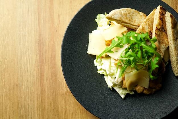 Основное блюдо в ресторане Premium Фотографии