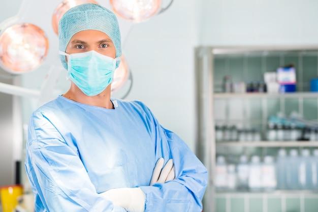 手術室の病院 - 外科医医師 Premium写真