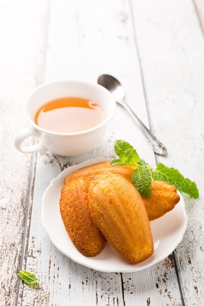 自家製レモンクッキーマドレーヌ Premium写真