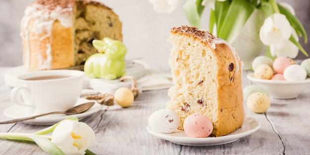 イースター正統派の甘いパン Premium写真