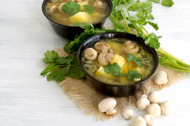 自家製ダイエットきのこのスープ Premium写真