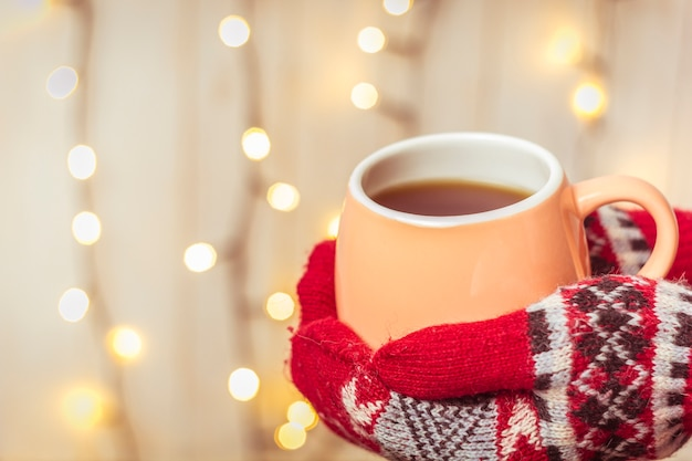 Картинки чай зима варежки именование