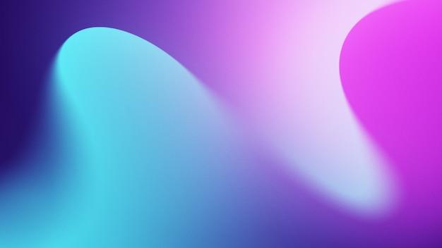 シアンと紫の色合いと抽象的なカラフルな背景 Premium写真
