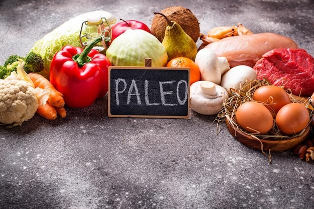 古ダイエットのための健康的な製品 Premium写真