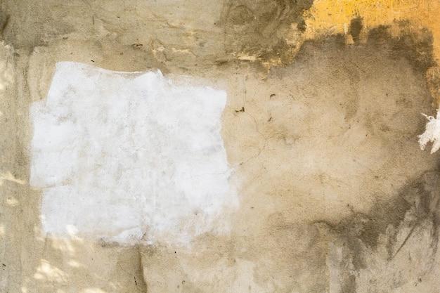 塗られた古い汚れた壁の Premium写真