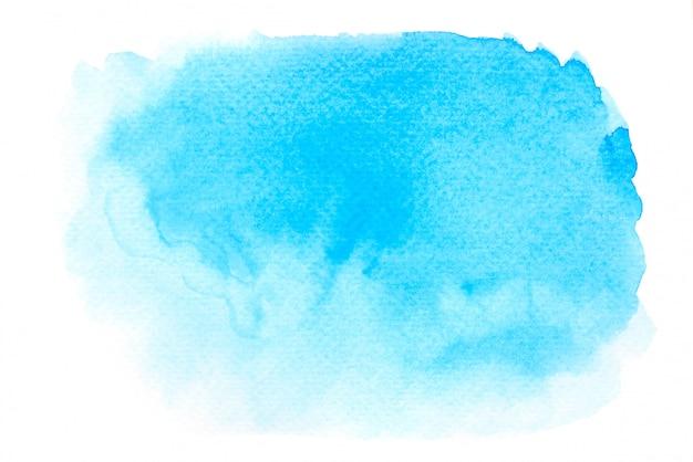 青い水彩絵の具背景テクスチャデザイン Premium写真