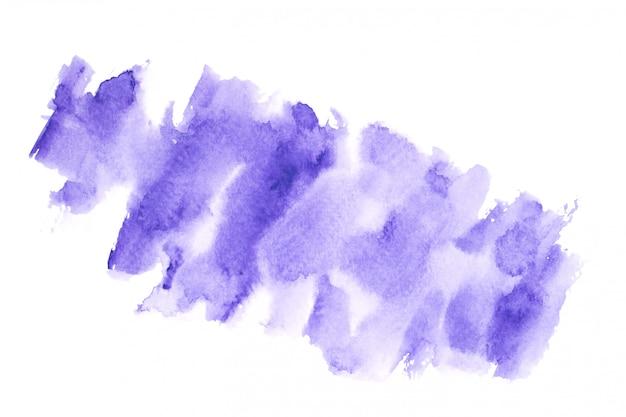 カラフルな色合いとストロークの紫色の水彩画ストローク背景 Premium写真