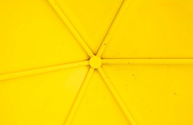 黄色の金属のテクスチャ Premium写真