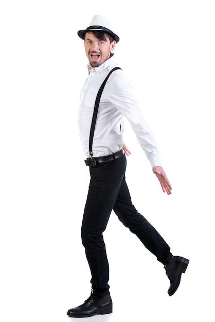 若い優雅なダンサー。 Premium写真