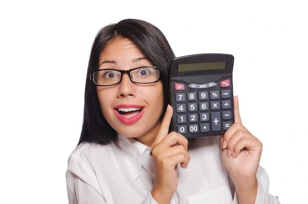 ビジネスコンセプトの若い女性 Premium写真