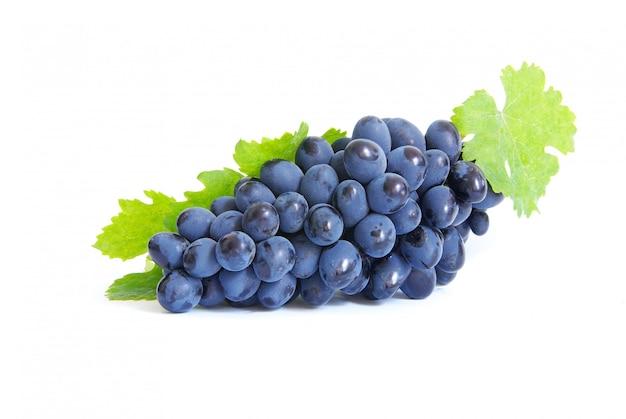 Виноград на белом изолированные Premium Фотографии