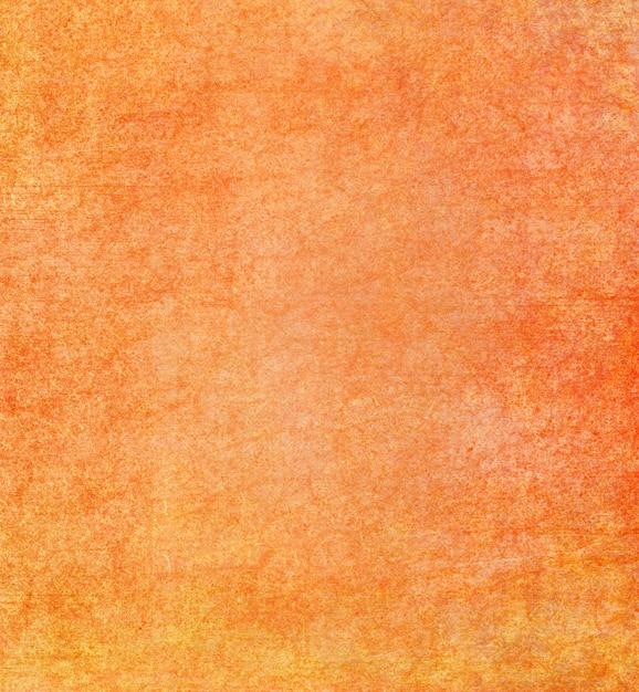 オレンジ色のグランジ背景 Premium写真