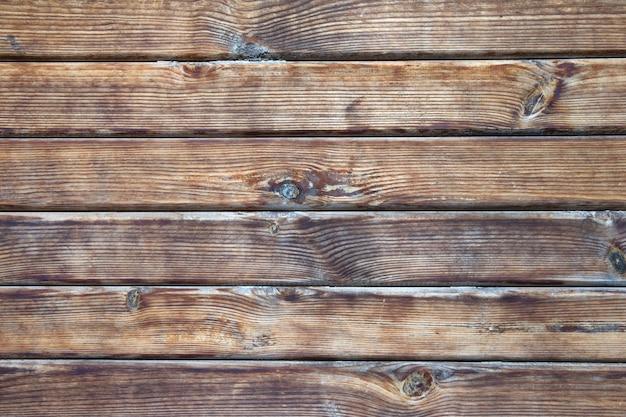 ウッドテクスチャ。背景の古いパネル Premium写真