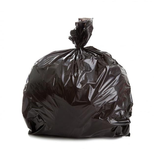 黒ゴミ袋 Premium写真