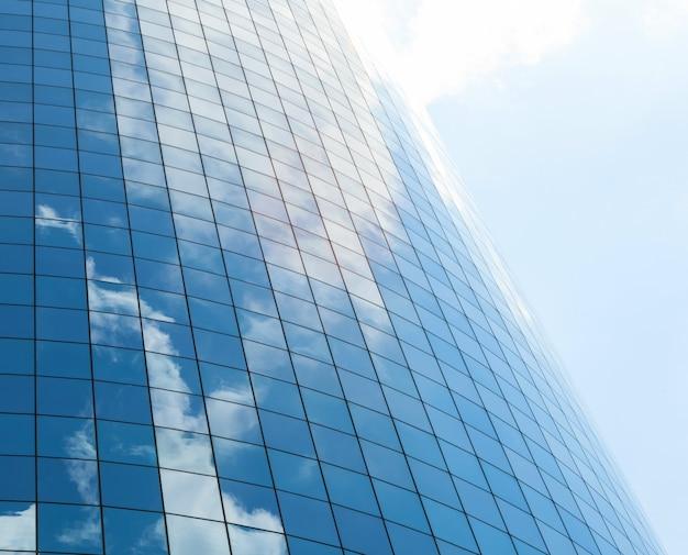 Современные стеклянные фоны небоскребов Premium Фотографии