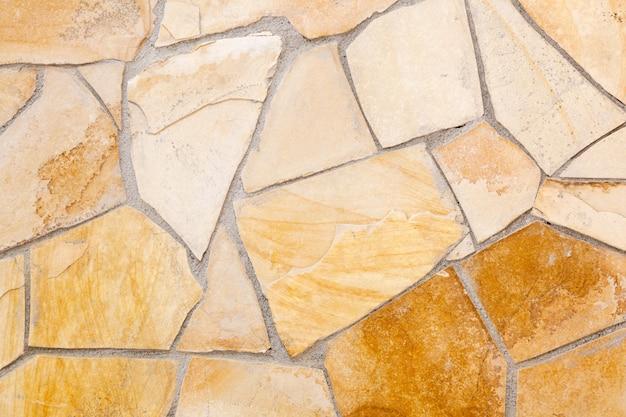 Стены облицованы порфировыми камнями Premium Фотографии