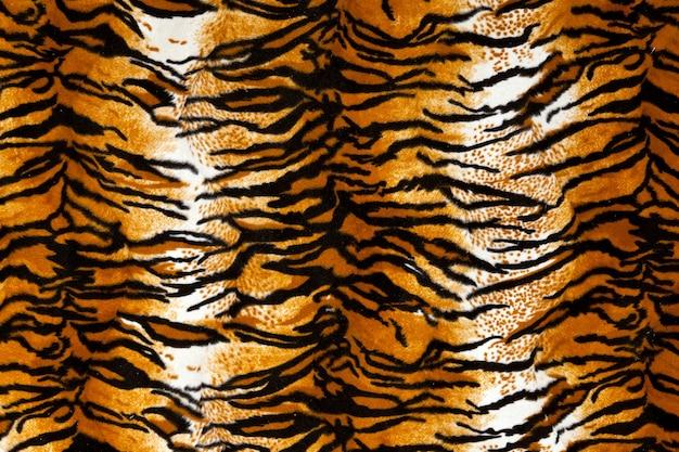 Тигр принт фон, принт в виде животных Premium Фотографии