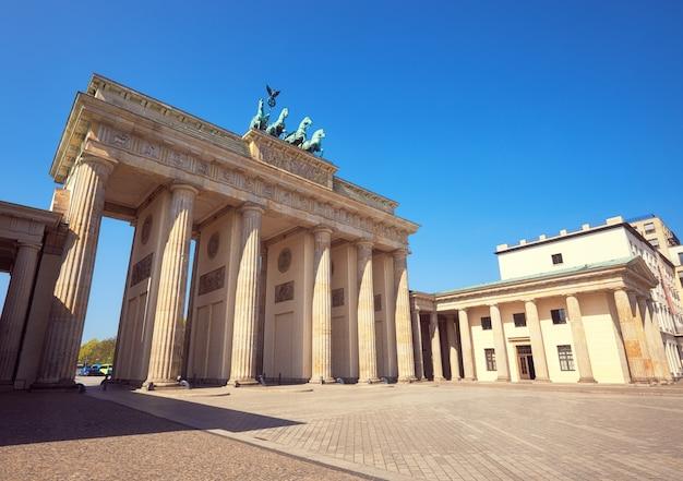 ベルリンのブランデンブルク門(ブランデンブルク門) Premium写真