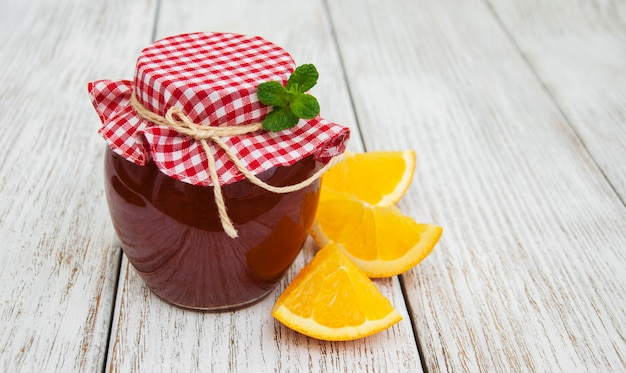 おいしいオレンジジャム Premium写真