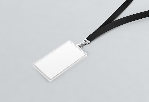 空白の黒い名前バグデレース Premium写真