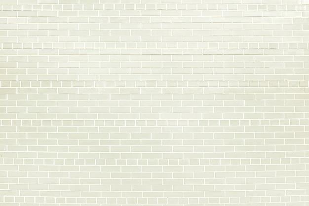 白いレンガの壁の背景テクスチャ Premium写真