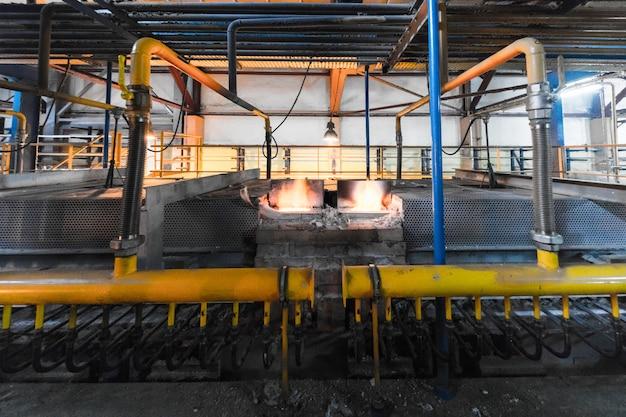 製造工場、現代のハイテク生産 Premium写真
