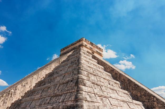 Руины майя чичен-ица мексики Premium Фотографии
