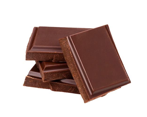 Темные шоколадные батончики Premium Фотографии
