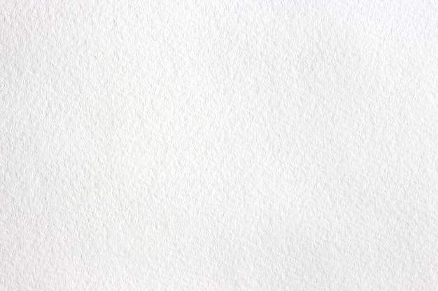 Белый фон акварельной бумаги Premium Фотографии