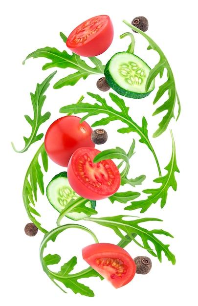 落ち野菜サラダ Premium写真
