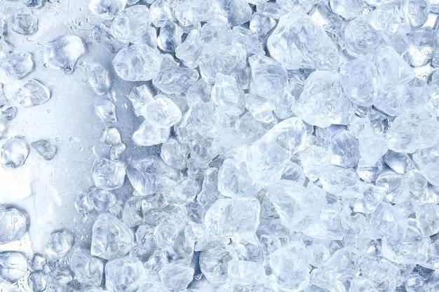 砕いた氷のテクスチャ 無料写真
