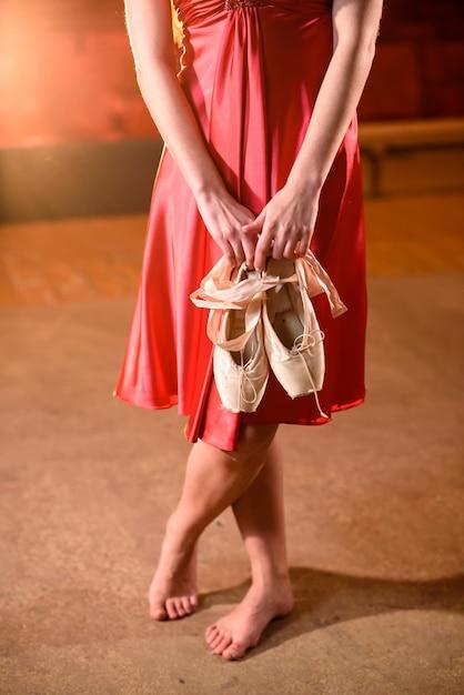 фото с туфельками в руках