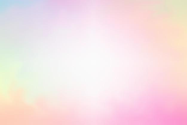 煙の抽象的な背景、明るいパステルカラー Premium写真