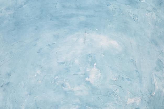 Голубая конкретная предпосылка, стена с текстурой, подготовка для дизайна. копировать пространство Premium Фотографии