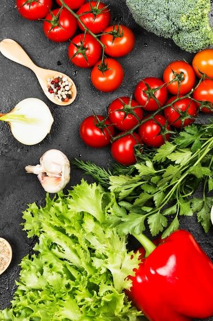 新鮮野菜の盛り合わせ Premium写真