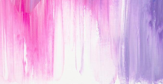 カラフルな甘い色の抽象的な背景の油絵の具。 Premium写真