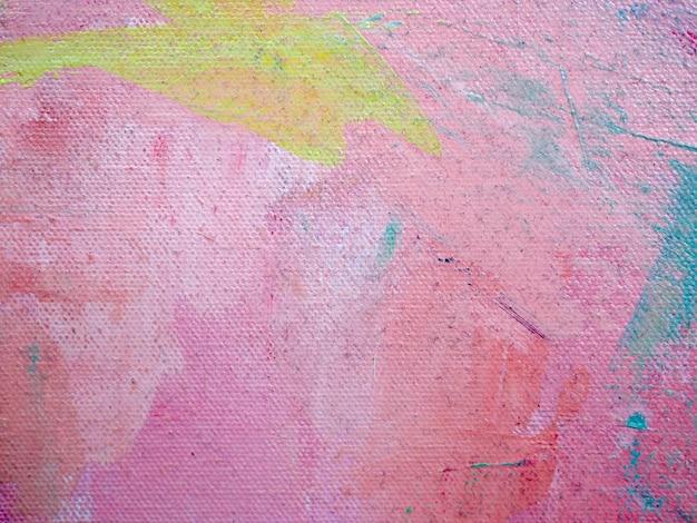 カラフルな色の甘い油絵の具の抽象的な背景 Premium写真