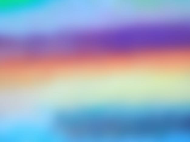 カラフルな油絵の具の抽象的な背景をぼかし。 Premium写真