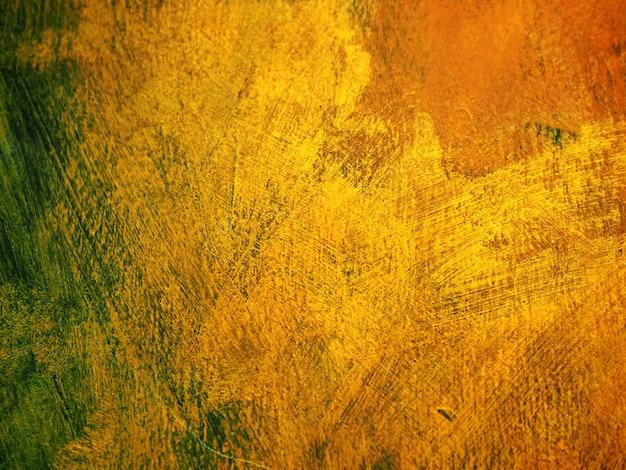 ゴールドのカラフルな色のテクスチャの抽象的な背景。 Premium写真