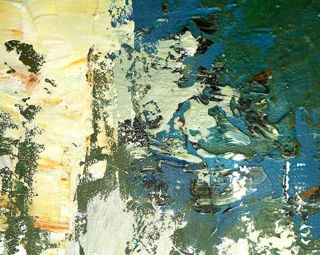 テクスチャとカラフルな絵画の抽象的な背景 Premium写真