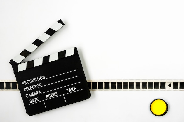 カチンコと映画 Premium写真