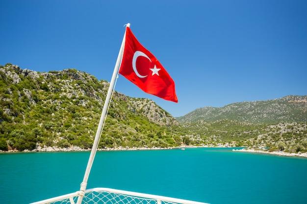 トルコの地中海沿岸 Premium写真