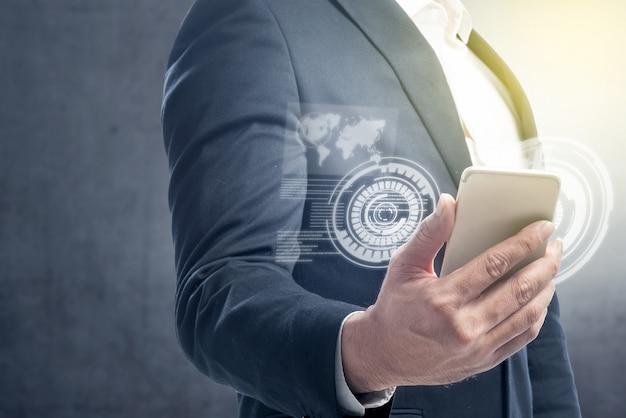 Концепция цифровых технологий Premium Фотографии