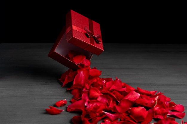 Красная площадь праздничная подарочная коробка Premium Фотографии