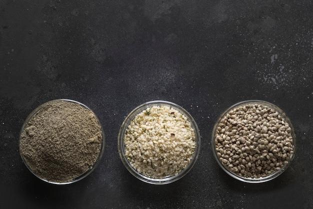 Черные семена конопли сел в тюрьму за коноплю