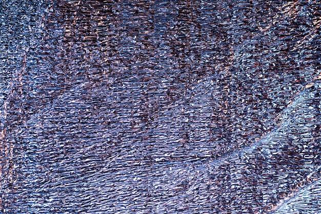 Абстрактный размытый голографический фон русалка фольги текстуры. футуристические неоновые модные серебряные цвета Premium Фотографии