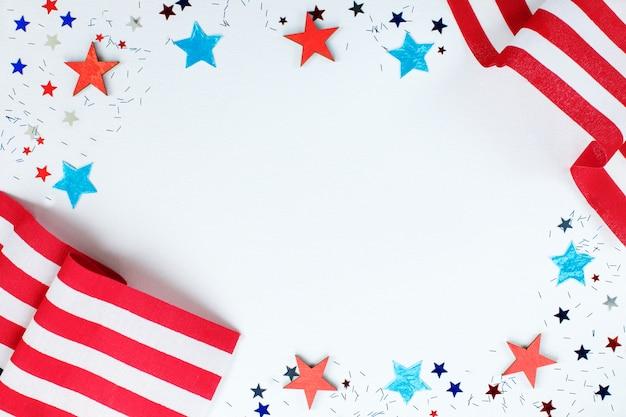 アメリカ独立記念日のコンセプト Premium写真